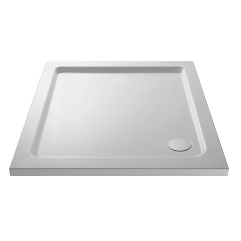 Ultra Pearlstone 1000mm x 1000mm Square Shower Tray